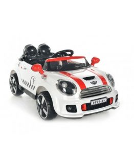 Αυτοκίνητο Mini Cooper S Type 12V White R/C