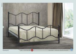 Μεταλλικό Κρεβάτι Ερασμία