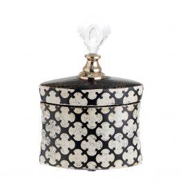 Βάζο με Καπάκι inart 3-70-743-0016