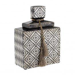 Βάζο με Καπάκι inart 3-70-743-0003