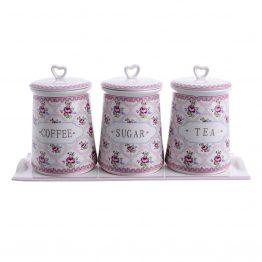Δοχείο Καφέ Ζάχαρης Inart 3-60-802-0020