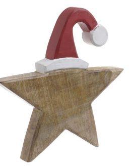 Ξύλινο Χριστουγεννιάτικο Αστέρι inart 2-70-930-0004