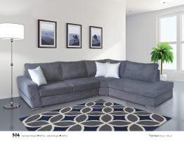 Γωνιακός καναπές 506