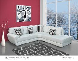 Γωνιακός καναπές 501