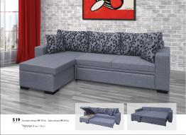 Γωνιακός καναπές Βιοτράπ 519