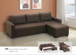 Γωνιακός καναπές Βιοτράπ 520