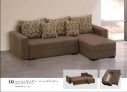 Γωνιακός καναπές Βιοτράπ 522