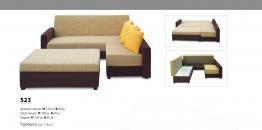 Γωνιακός καναπές Βιοτράπ 523