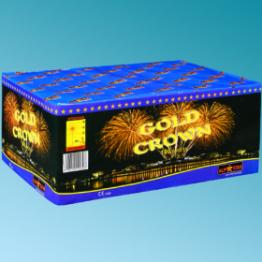 Πυροτεχνήματα 100 βολών Gold crown